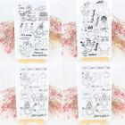 Silicone Clear Rubber Stamps Seal Album Card Scrapbooking Decor Diary DIY Craft