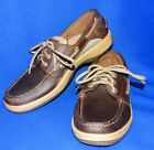 MINTY 9 M SPERRY TOP SIDER BILLFISH OIL TANNED BROWN MENS BOAT CASUAL SHOES