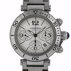 Cartier 2995 Pasha Seatimer W31089M7 Stainless Steel Swiss Automatic Chronograph