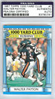 Walter Payton Autographed Signed 1987 Topps 1000 Yard Club Card Bears PSA DNA