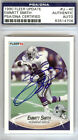 Emmitt Smith Autographed Signed 1990 Fleer Update Rookie Card Cowboys PSA DNA
