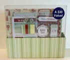 Christmas Scrapbook 8 x 8 Kit Includes Stickers Papers Embellishments Album