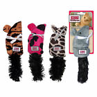 KONG KITTEN KICKEROO Mouse Crinkle Catnip Cat Toy 9 inches CR41