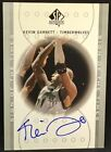 KEVIN GARNETT 00-01 UD SP Authentic SIGN OF THE TIMES PLATINUM AUTO SP #14 21 !