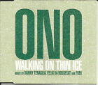 YOKO ONO & DANNY TENAGLIA Walking on thin Ice REMIXES CD Single SEALED Beatles