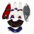 ONE VINTAGE ETHNIC Multi Color Beaded Necklace Choose One Multi Strands Collars