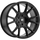 20x95 Black Black Rhino Mala Wheels 5x55 +20 Fits Dodge Durango
