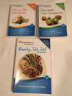 WEIGHT WATCHERS 2012 COMPLETE FOOD Dining out POINTS Plus READY SET GO lot of 3