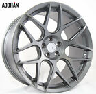 18X9 AodHan LS02 Rims 5X1143 +30 Gun Metal Wheels Fits Mazda Mx5 Speed3
