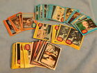Vintage Star Wars 1977 Topps Trading Card Lot Blue Orange Yellow Stickers MORE