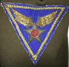 WWII US Army Air Corps Capts Dress Jacket Bullion Italian 12th AF Patch
