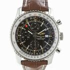 Breitling A24322 Navitimer World Stainless Steel Swiss Automatic Chronograph