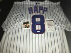 Ian Happ Chicago Cubs Autographed Signed Jersey JSA WITNESS COA