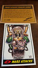 2014 TOPPS IDW LIMITED MARS ATTACKS REPRINT SKETCH TRADING CARD DAN HARDING # 37