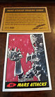 2014 TOPPS IDW LIMITED MARS ATTACKS REPRINT SKETCH TRADING CARD JOHN MCCREA # 93