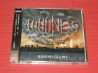 2018 JAPAN CD LOUDNESS RISE TO GLORY  8118 with Bonus Track + DVD EDITION