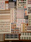 US Postage Stamp Collector Plate Sheet Variety Lot stamps Face Value 6700 +