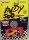 MJ7  Matchbox - 1991 Indy 500 - Indy Race Car - Yellow & Blue - #18 Kraco