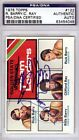 Rick Barry & Clifford Ray Autographed Signed 1975 Topps Card Warriors PSA DNA