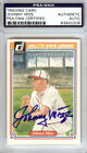 Johnny Mize Autographed Signed 1983 Donruss HOF Heroes Card Giants PSA DNA