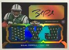 2011 Topps Triple Threads BILAL POWELL Rookie RC Auto Jersey RPA Autograph 95 99