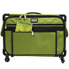 Tutto Lime Large 5222MA Sewing Machine Bag On Wheels 22x15x12