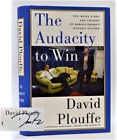 Audacity to Win The Inside Story Lesons Barack Obamas Historic Victory SIGNED