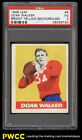 1948 Leaf Football Doak Walker ROOKIE RC #4 PSA 3 VG (PWCC)
