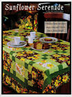 Sunflower Serenade Finished Size 67x79 Quilt pattern only