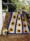 Sunflower Fun Finished Size 68x86 Quilt  pattern only