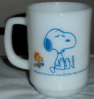 Fire King Snoopy I'm Not Worth a Thing Before Coffee Break! Mug