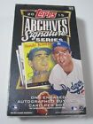 2015 Topps Archives Signature Series Baseball Factory Sealed Hobby Box AUTO