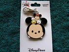 Disney  TSUM TSUM MICKEY  FRIENDS  New on Card Pin Trading Lanyard Medal