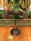 Primitive French Country LEAPING Bunny Rabbit Decor Rabbit Hill Farm