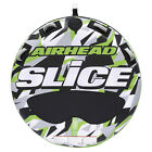 Airhead AHSSL 22 Slice 2 Person Towable Inflatable Water Round Tube Boat Toy
