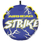 Airhead AHST 23 Strike 2 Inflatable 1 Rider Person Towable Water Tube Boat Toy
