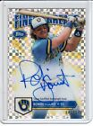 2014 ROBIN YOUNT TOPPS FINEST FINEST GREATS INSERT AUTO REFRACTOR 042 149