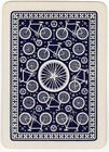 Playing Cards 1 Single Swap Card Old Vintage Wide BICYCLE Cycling BIKE RIDING 2