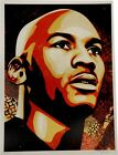 Shepard Fairey Hand Signed Autographed 18