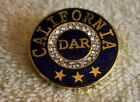 VINTAGE DAR Daughters of the American Revolution PIN PENDANT