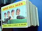 1969 Topps Partial Complete Set (198 664) nice lot EX EX+ EXMT some NM