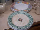 CORELLE CORNING IMPRESSIONS WATERCOLORS 6 DINNER PLATES  7 luncheon plates