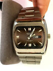 VINTAGE TECHNOS 2789 AUTOMATIC COUGAR DAY DATE SWISS MADE MENS WATCH RUNNING!