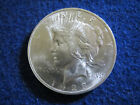 1923 Peace Silver Dollar Choice Bright Uncirculated Nice Free U S Shipping
