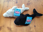 Plush by RUSS Hoops the Dolphin & Willie the Whale Beany Bunch Pals Beanie Baby