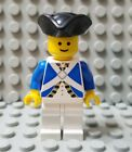 LEGO Pirate Blue Imperial Soldier Minifigure with Tricorne Hat