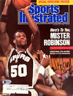 David Robinson Autographed Signed Sports Illustrated Magazine Spurs Beckett BAS