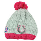NFL New Era Breast Cancer Awareness Knit Beanie Indianapolis Colts Pink Womens