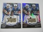 2015 Panini Rookies And Stars Phillip Dorsett, Andrew Luck Indiannapolis Colts