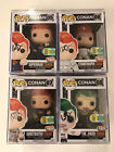 Funko Pop Conan SDCC 2016 Exclusive Set - All Signed w Pop Protector